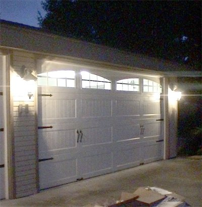Double Single Clopay Garage Door Installation In Encinitas Ca