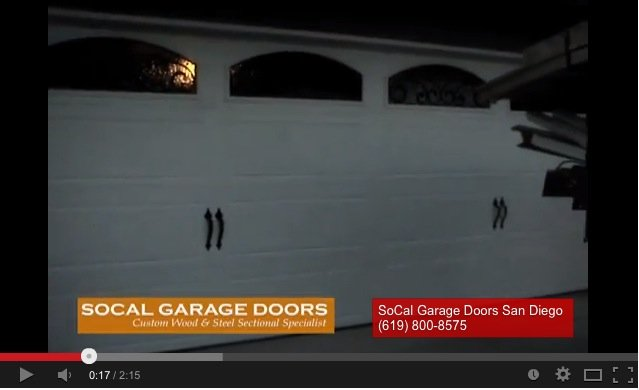 San Diego Garage Door Videos Garage Door Repair Videos