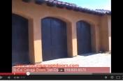 Custom Wood Door Rancho Santa Fe