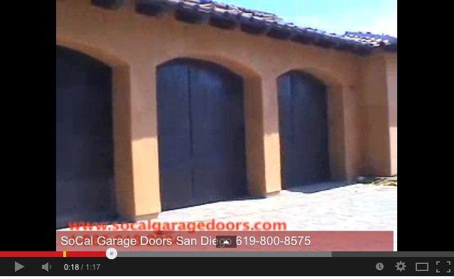 Custom Wood Door Rancho Santa Fe San Diego Garage Door