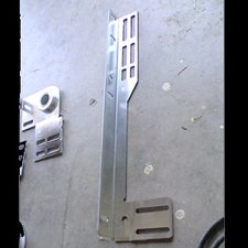 garage door flange bracket
