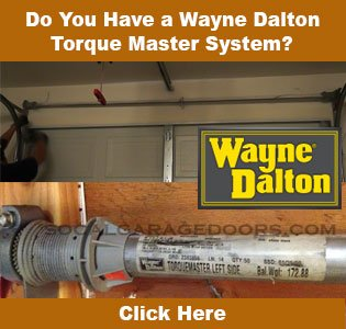 Garage door torquemaster spring replacement youtube.