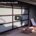 full view garage door La Jolla