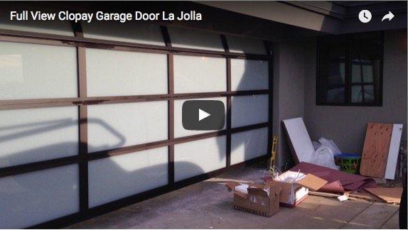 & Full View Garage Door- La Jolla CA