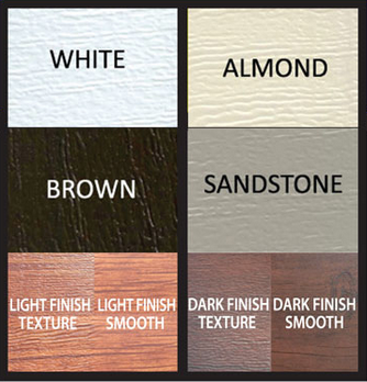 Available Garage Door Colors